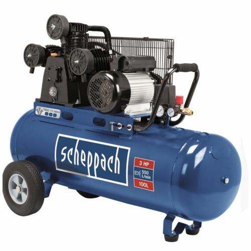 KOMPRESSZOR SCHEPPACH HC 550TC 3 HENGER 2,2KW 550L/MIN